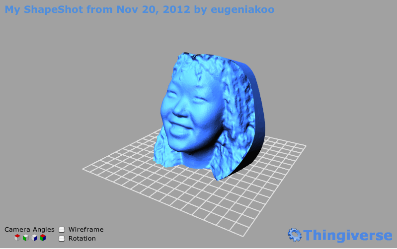Screen shot 2012 11 20 at 7.47.31 PM MakerBot will help you save face with its new 3D Photo Booth
