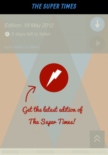Screenshot7 220x314 The Super Times brings curated podcast playlists offline via a sweet iOS app