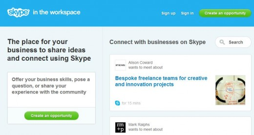 Screenshot 14 520x276 Skype in the Workspace launches to help millions of SMBs network globally