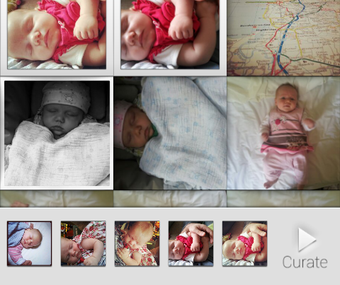 b2 Tapestry for Android lets you beam curated photo albums to friends and family in real time
