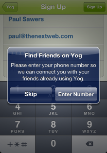 b4 220x315 TNW Pick of the Day: Yog lets you schedule runs with friends and strangers around the world