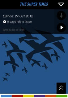 birds cover 220x315 The Super Times brings curated podcast playlists offline via a sweet iOS app
