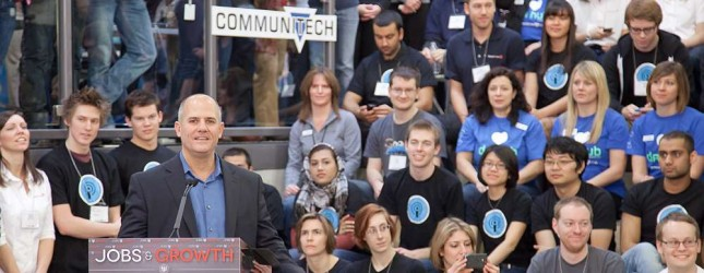 communitech hub opening via communitech on flickr