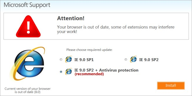 fakebrowserupdates4 Popups push malware using warnings for fake Chrome, Firefox, IE, and even iPhone updates