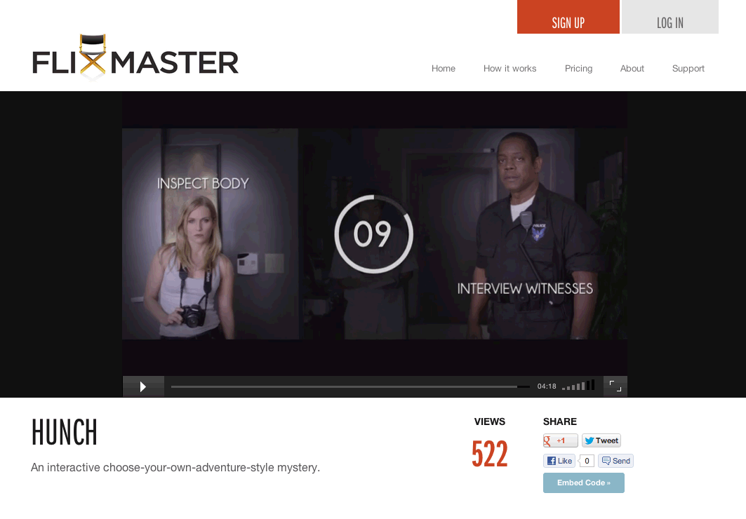flixmaster 03 FlixMaster partners with Sony Creative Software to bring interactive videos tools to a broader audience