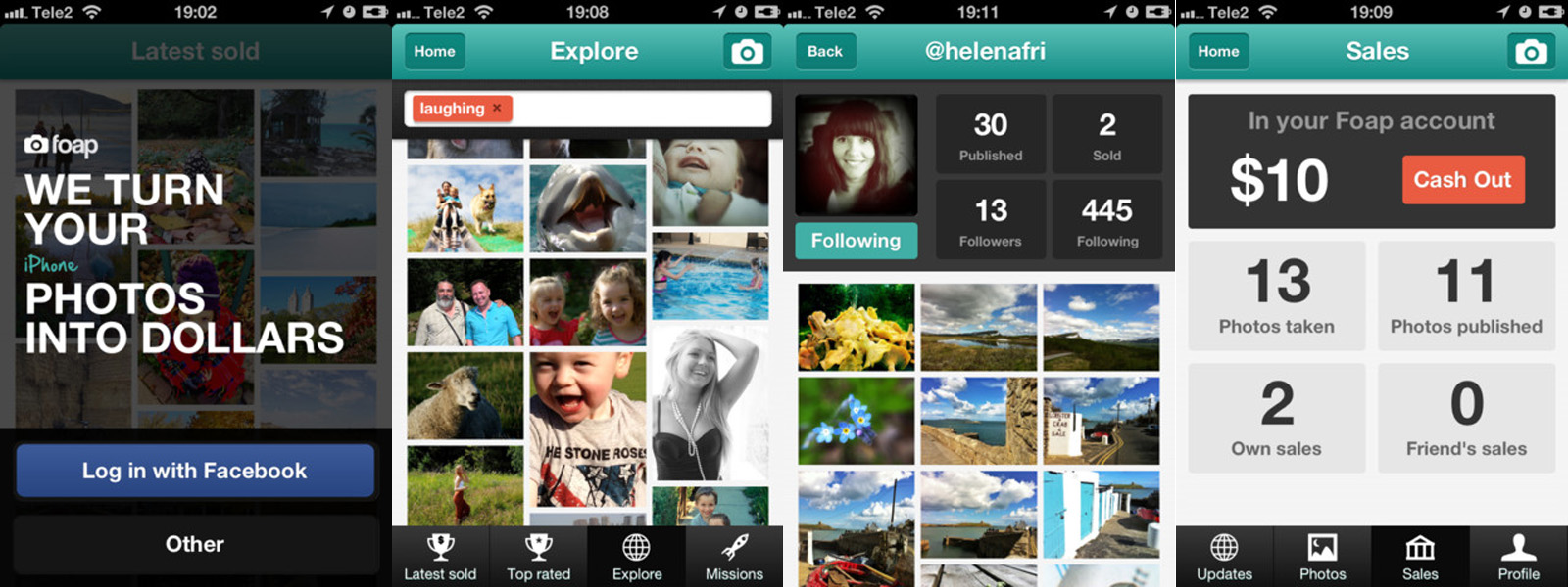 foap app screens Swedish mobile photo agency startup Foap snaps up $500k investment round