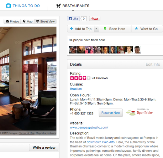 gogobot4 Gogobot upgrades social travel app with real time hotel pricing, OpenTable & Street View integration
