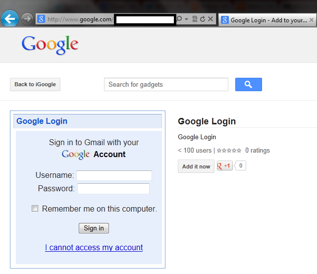 google com phishing Security loophole allows hackers to create phishing scam hosted on Google.com (updated)