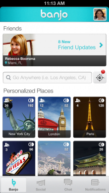 homepage 220x390 With 3 million users, Banjo updates its app, taking you anywhere you want to see things in real time