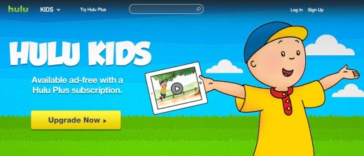 hulu kids  520x223 Hulu adds kid friendly section to its premium offering