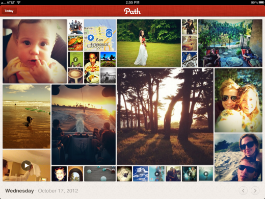 ipad landscape 2 520x390 Path finally launches its long awaited iPad app, brings tablet friendly features to its 3 million users