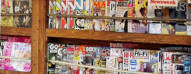 Magazines. Adrian Dennis Getty
