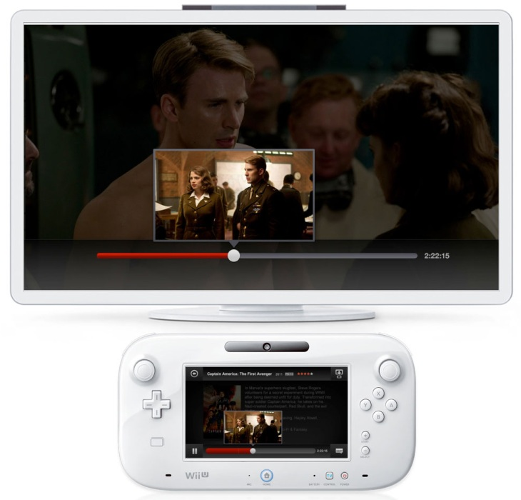 netflix wii u Netflix arrives on the Wii U supporting two screens: the consoles GamePad and 1080p on your TV
