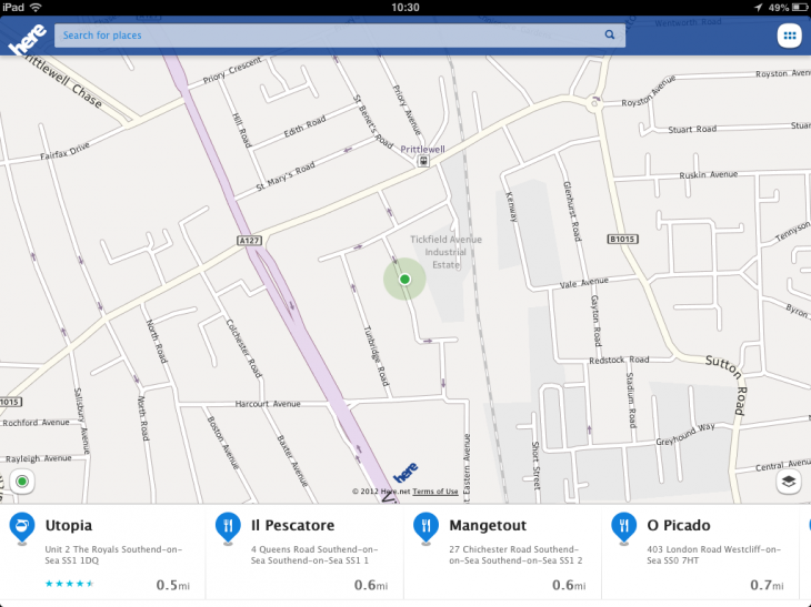 photo1 730x547 Nokias Here Maps hits the App Store, now available on iPhone, iPad and iPod touch
