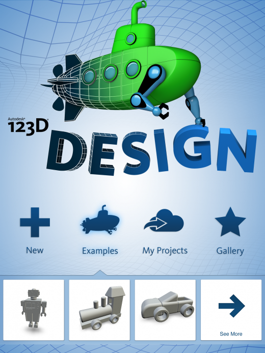 screen2 520x693 Autodesks new 123D Design app turns everyone into 3D modellers