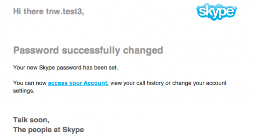 skype password reset 520x284 Security hole allows anyone to hijack your Skype account using only your email address (updated)