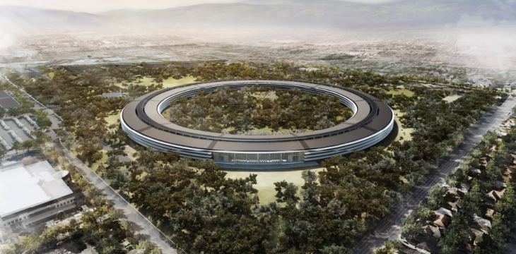 spaceship 730x360 Apples new Spaceship campus set to open in 2016 as project experiences delays