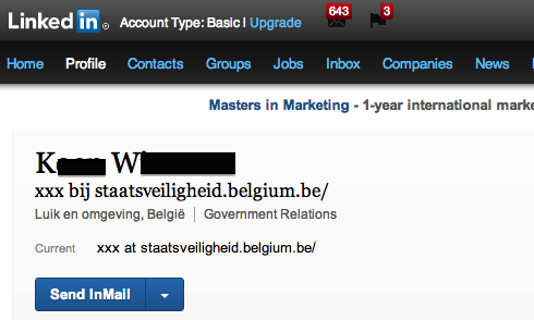 staatsveiligheid Simple minded spies: Belgian State Security employees overshare information on Facebook and LinkedIn