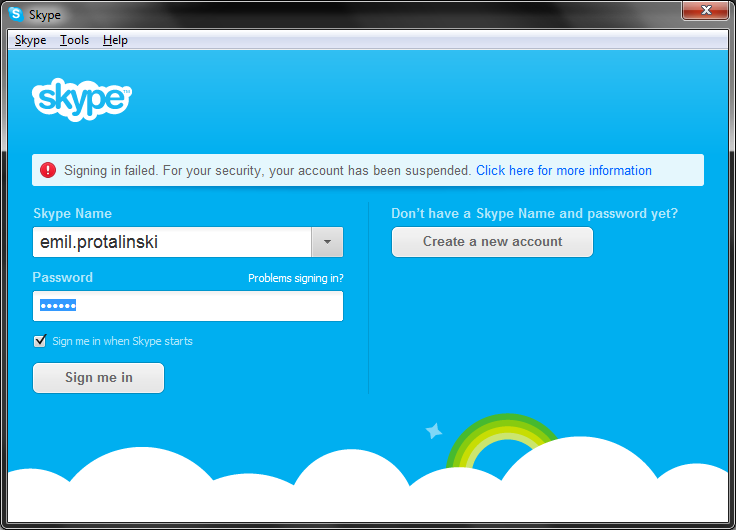 suspended Skype suspends accounts hijacked via security hole, quickly releases any that prove their identity