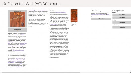 wikipedia 520x294 25 inspiring Windows 8 app designs