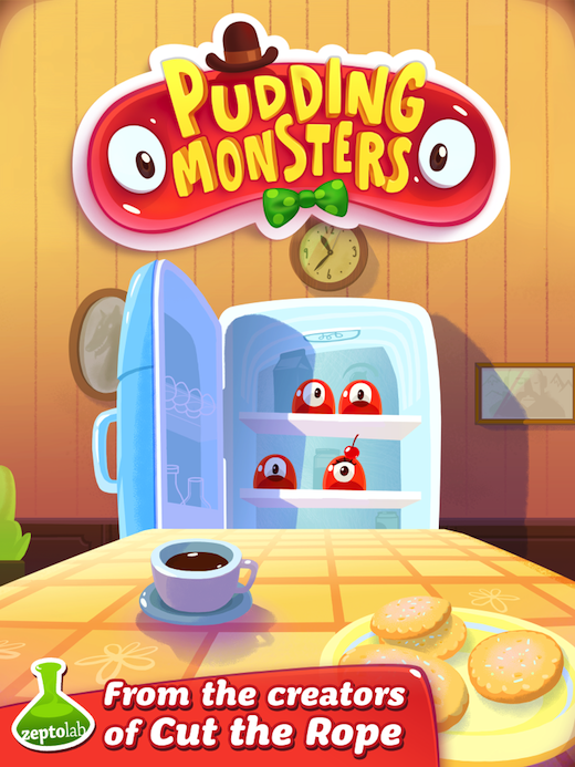 01 Life beyond Cut the Rope: Zeptolab unveils new game, Pudding Monsters, launching 20 Dec