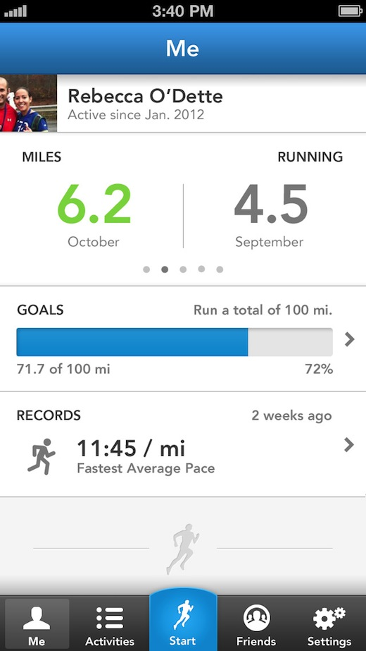 3.0MeTab RunKeeper aims to keep its 14 million users running with new app UI and improved photo sharing