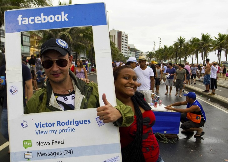 Facebook costume via Getty Images 730x520 2012 in the crazy world of Brazilian memes and Internet culture