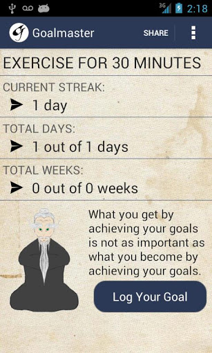 Goalmaster 20 apps to help you keep your New Year resolutions