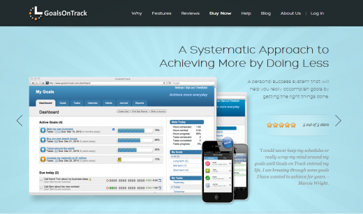 GoalsOnTrack 520x307 20 apps to help you keep your New Year resolutions