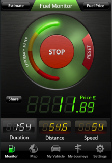 H 220x320 TNW Pick of the Day: Fuel Monitor shows drivers exactly how much their trips costing in real time