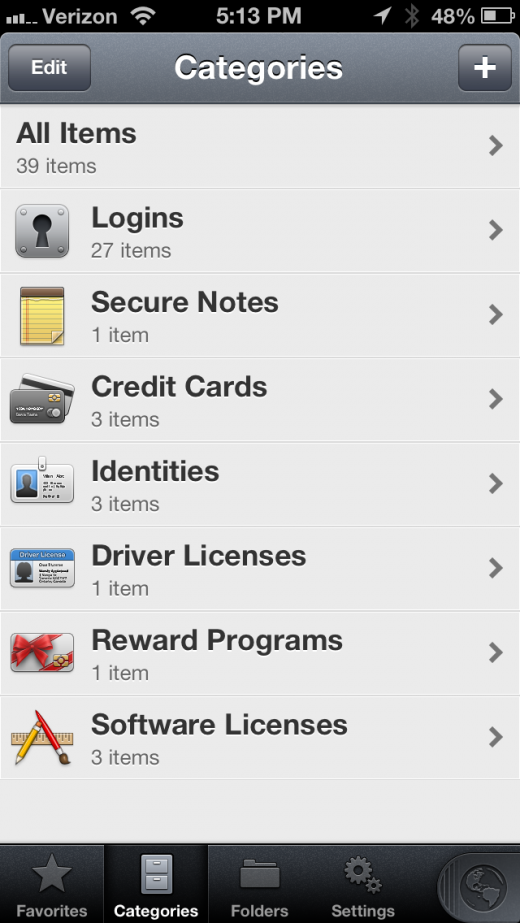 IMG 0654 520x923 All the beautifully redesigned 1Password 4 for iOS wants to do is help you forget your passwords