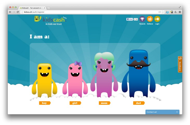 Kidscash 730x482 KidsCash: Fun, educational online money management for kids