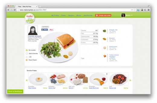 Make My Plate1 520x343 Make My Plate: The online visual nutrition guide that lets you drag and drop your next healthy meal