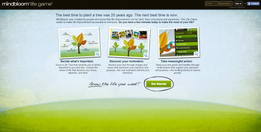 Mindbloom 520x263 20 apps to help you keep your New Year resolutions