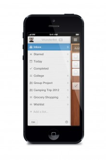 Sidebar black 220x330 Popular to do list app Wunderlist gets a raft of powerful new features – and youll barely notice them