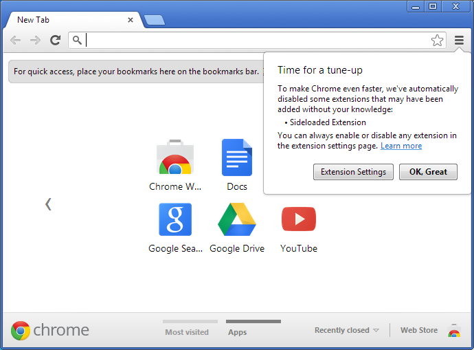 Extension Google Chrome
