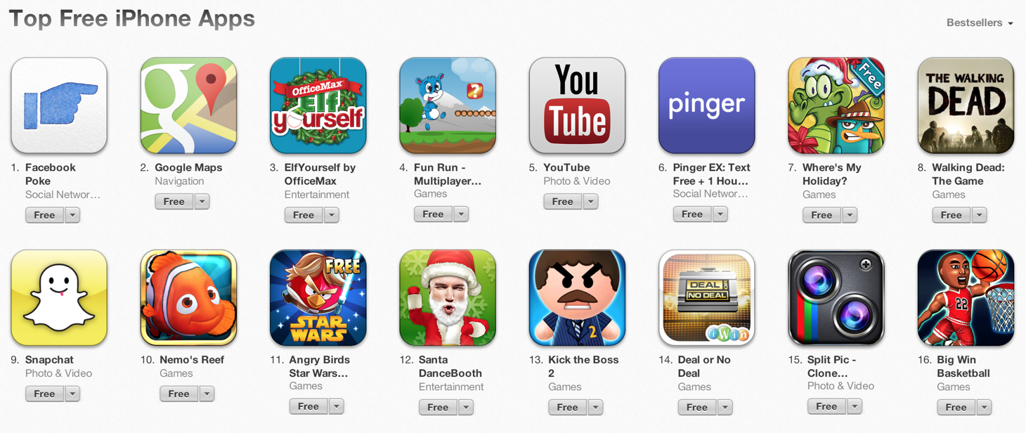 free app store games download