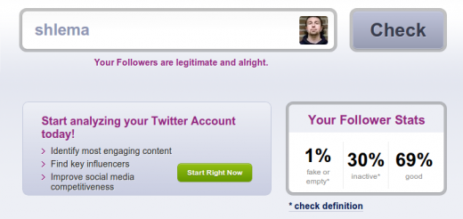 cKiAU 520x246 New Socialbakers tool lets you check how many bots are following you on Twitter