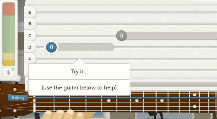 f 730x399 Strum thing special: Instinct launches its sweet interactive guitar tuition Web app to the public