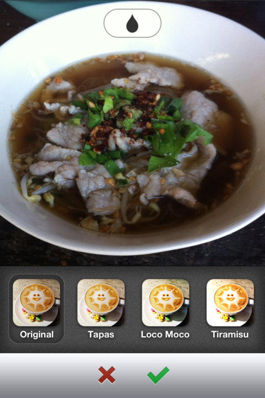 image 520x780 Food sharing app Burpple serves up photo filters to make your latest eats look even tastier