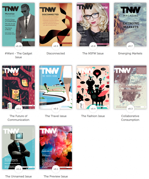 old issues 520x625 Love snow? Download TNW Magazine the WHITE issue now…