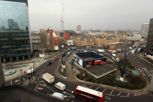 old street roundabout1 520x346 Old Street, new start: The pitfalls that Londons Tech City needs to avoid