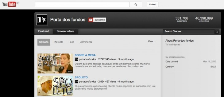 porta dos fundos youtube 730x317 2012 in the crazy world of Brazilian memes and Internet culture