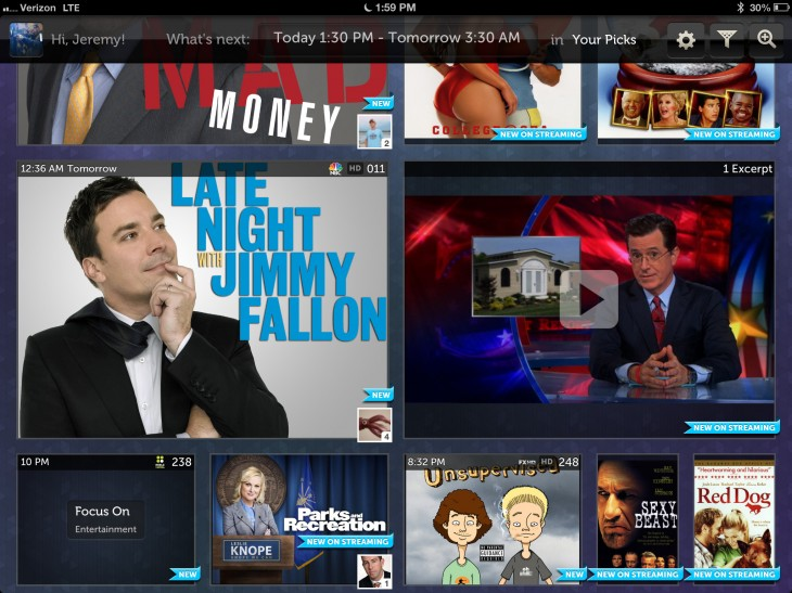 yourpickswithclips 730x547 NextGuide launches NextGuide Clips, bringing 18,000 TV clips from Hulu into the app