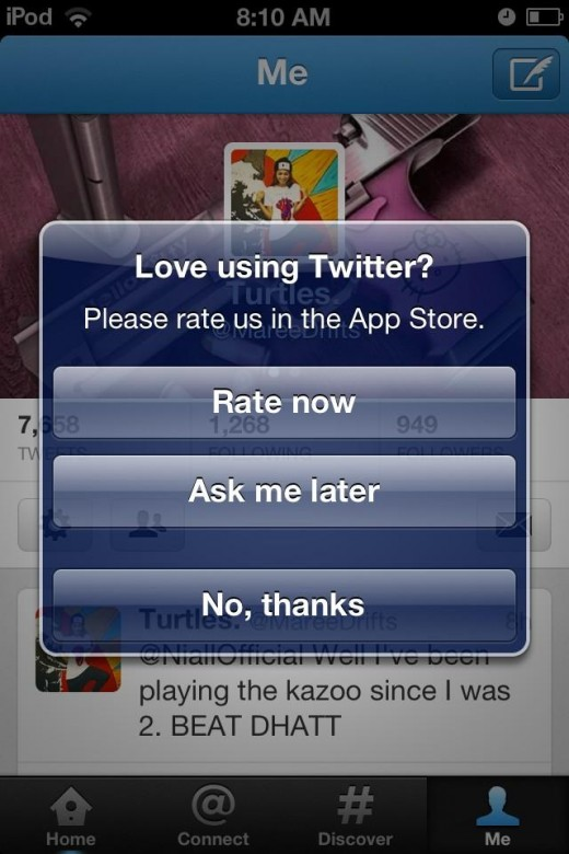 The Twitter iOS app shot up from a  2.5 star rating in December to 4.5 in January, but how?