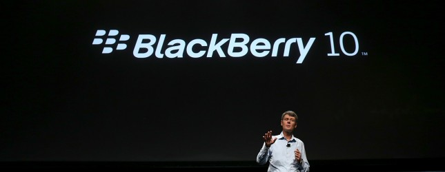 RIM CEO Thorsten Heins Speaks To Blackberry Conference In San Jose