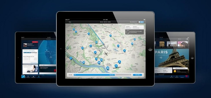 IPAD Hero 730x341 Delta launches iPad app with mapping and social features, updates iPhone version with Passbook support