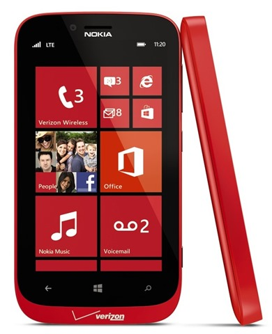 Lumia822RedComboVZW crop thumb 7714BFD0 1 Verizon expands its Windows Phone lineup with the Samsung ATIV Odyssey and Nokia Lumia 822