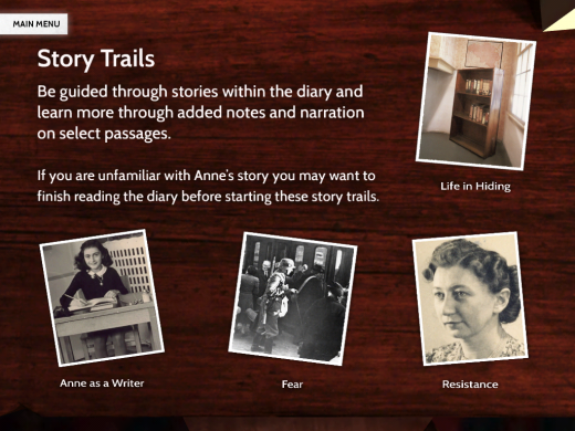 Photo 28 01 2013 09 14 19 520x390 Anne Frank for iPad and Nook reimagines The Diary of a Young Girl for the digital age