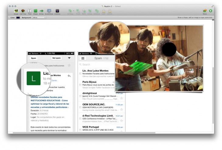 Screen Shot 2013 01 17 at 8.57.46 AM 730x495 Napkin: A beautiful, clever image annotation and collaboration tool for Mac